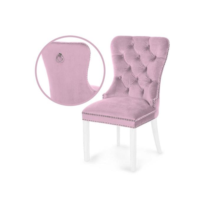 Scaun tapitat Madame roz