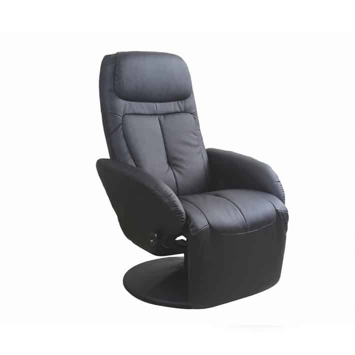 Fotoliu recliner tapitat Optima negru