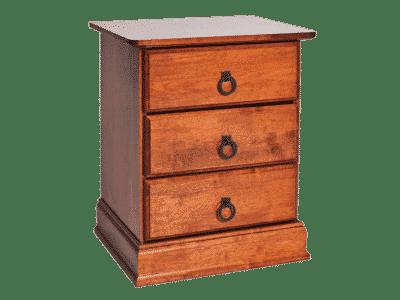 Noptiera lemn masiv Boston