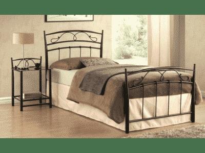 pat metalic Siena negru