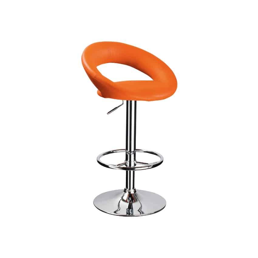 Scaun bar C-300 portocaliu