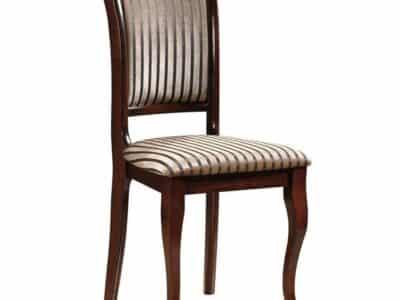 Scaun din lemn masiv nuc inchis MNSC