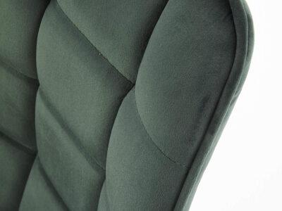 Scaun tapitat stofa K332 – Verde