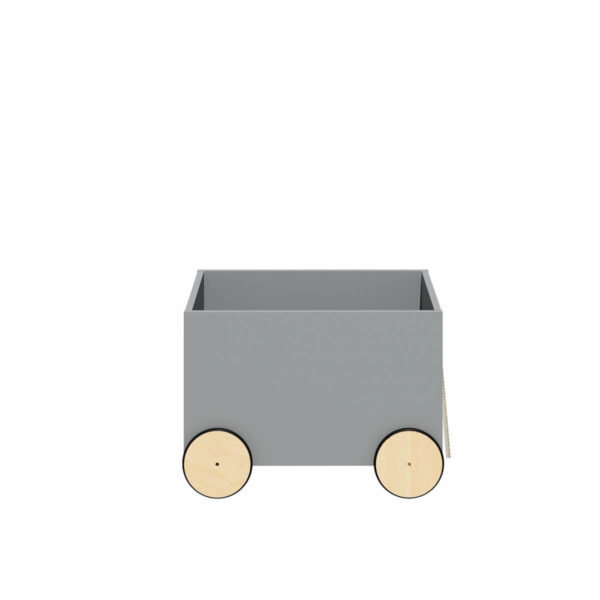 Carucior pentru depozitarea jucariilor Lotta Grey