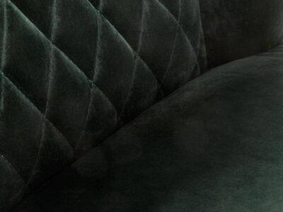 Scaun tapitat catifea K339 Verde