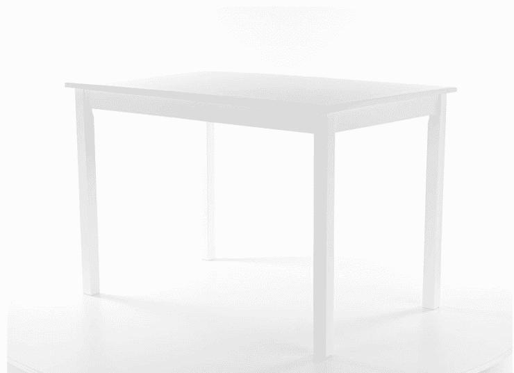 Masa Fiord MDF alba L110 x l70 x h74 cm