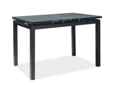Masa extensibila Turin negru L110-170 x l70 x h76 cm