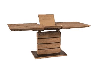 Masa extensibila Leonardo stejar L140-180 x l80 x H76 cm
