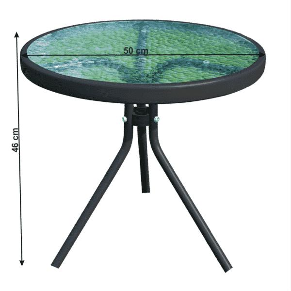 Masuta de exterior HABIR d50xh46 cm