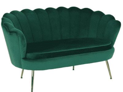 Canapea fixa NOBLIN verde smarald