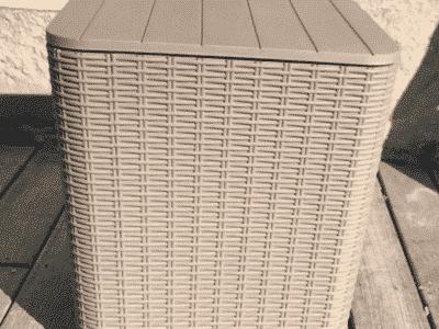 Masuta de depozitare UGUR gri/maro d39xh42 cm 4