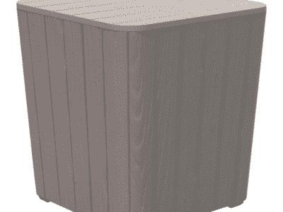 Masuta de exterior IBLIS gri d39xh42 cm