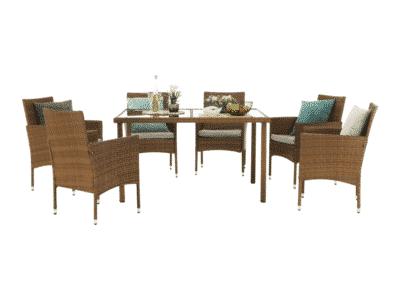 Set masa GARDEN + 6 scaune