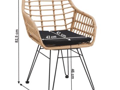 Set masa VALIN + 2 scaune
