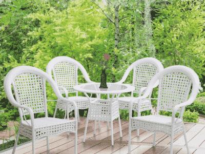Set masa KOVEN + 4 scaune