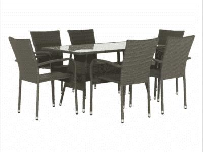 Set masa OBSOR + 6 scaune
