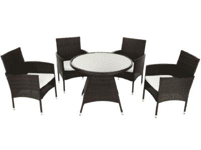 Set masa RANDEL + 4 scaune