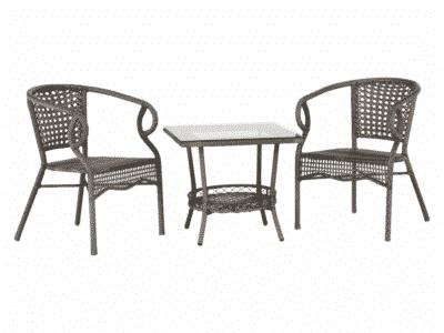 Set masa TODOR + 2 scaune
