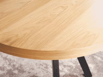 Masa extensibila Domingo stejar L100-250 x l100 x h76 cm