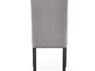 Scaun tapitat CLARION 2 velvet gri H97 cm
