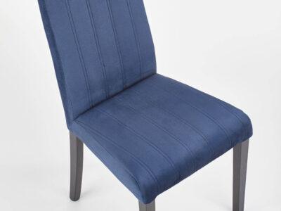 Scaun tapitat DIEGO 2 velvet albastru