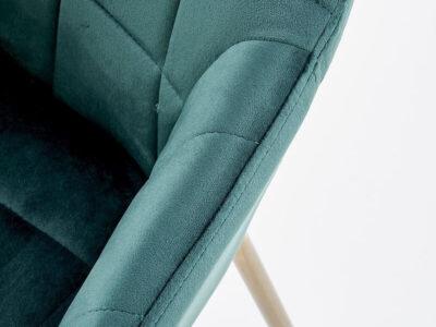 Scaun tapitat K306 verde