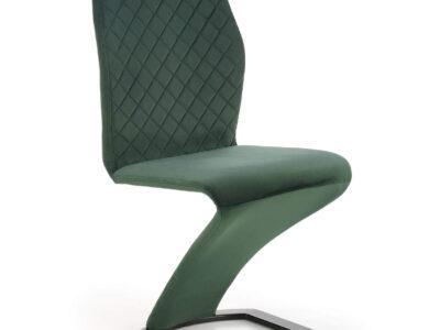Scaun tapitat K442 velvet verde H102 cm