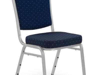 Scaun tapitat K66S albastru