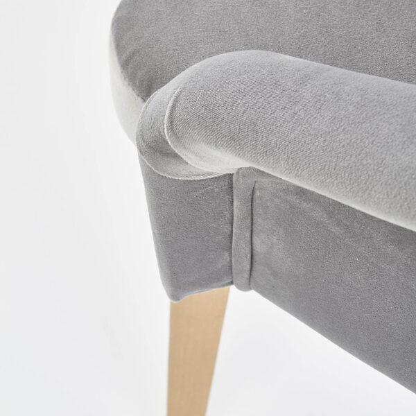 Scaun textil Toledo 2 gri