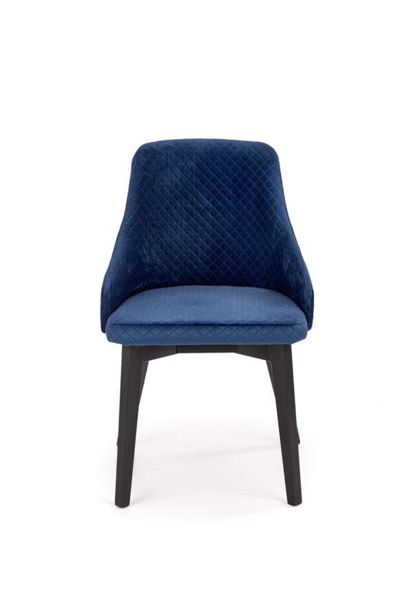 Scaun textil Toledo 3 albastru