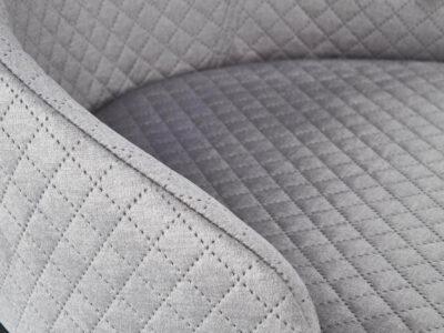 Scaun textil Toledo 3 gri