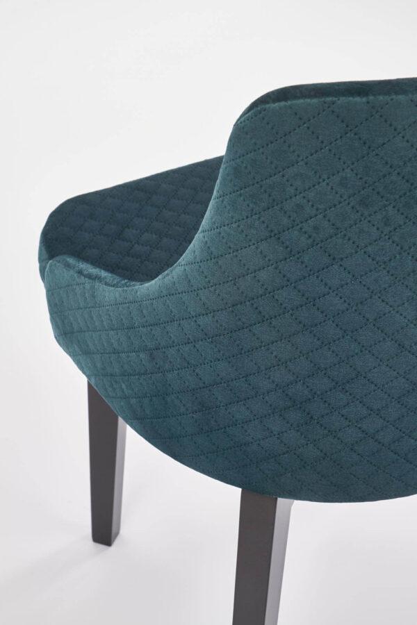 Scaun textil Toledo 3 verde