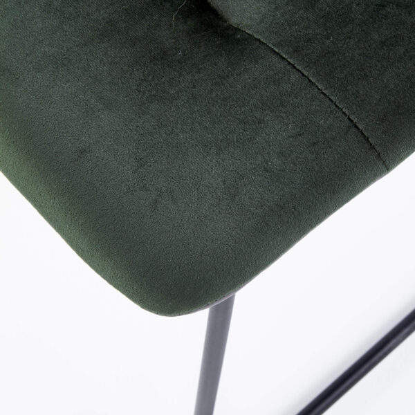 Scaun tapitat K321 verde