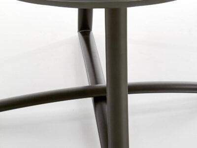 Masa rotunda extensibila Moretti – L118-148 x I118 x H76 cm