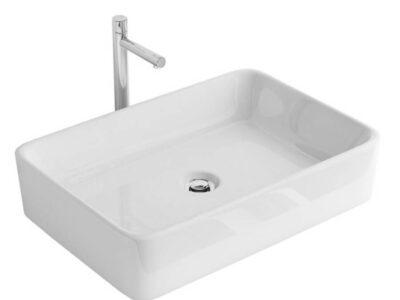 Lavoar Anita alb ceramica sanitara – 48 cm