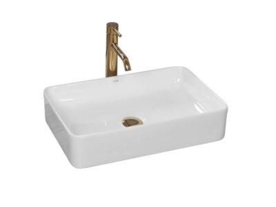 Lavoar Avia Alb ceramica sanitara – 51 cm
