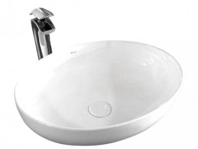 Lavoar Carola alb ceramica sanitara – 51,5 cm