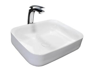 Lavoar Demi Slim Alb ceramica sanitara – 51 cm