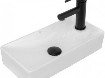 Lavoar Jasper Alb ceramica sanitara – 43,5 cm