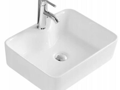 Lavoar Kelly alb ceramica sanitara – 49 cm