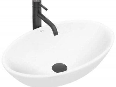 Lavoar Pamela alb ceramica sanitara – 53 cm