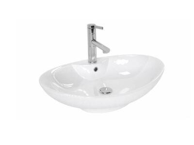 Lavoar Rosa Alb ceramica sanitara – 66 cm