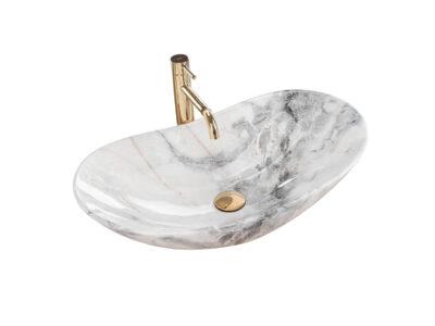 Lavoar Royal Marmura ceramica sanitara – 60,5 cm