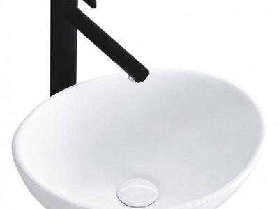 Lavoar Sofia Mini alb ceramica sanitara – 34 cm