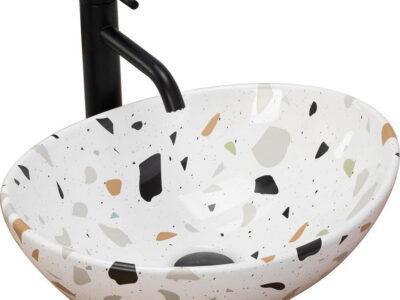 Lavoar Sofia Terazzo ceramica sanitara – 42 cm