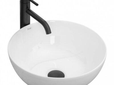 Lavoar Stella alb ceramica sanitara – 39 cm
