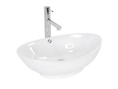 Lavoar Wendy Alb ceramica sanitara – 60×39 cm