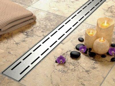 Set rigola pentru dus cu capac Line – 80 cm