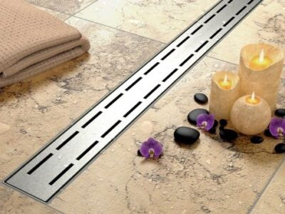 Set rigola pentru dus cu capac Line – 70 cm