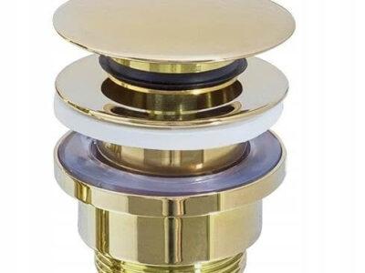Ventil lavoar Click-Clack universal gold